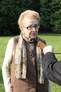 Zoe Klusáková Svobodová  - pietní akt Hlučín 29. 4. 2009