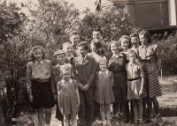 Svatobořické děti po válce