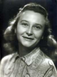Irena Hešová po válce