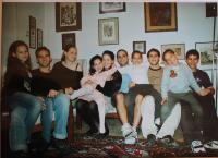 Fotografie vnoučat v Izraeli