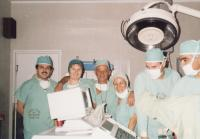 V nemocnici, 1997, pamětnice 4. zleva