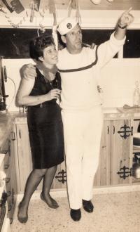 Eva a Petr Erbenovi, Izrael 1964