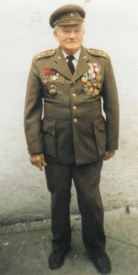 František Švrček v důchodu, asi 80. léta