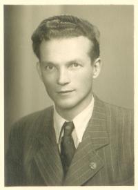 Fr. Švrček těsně po válce
