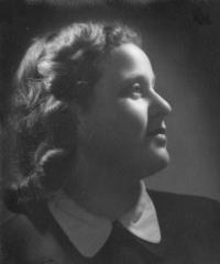 Eva Kohnová Horová, friend from room 28 in Terezín