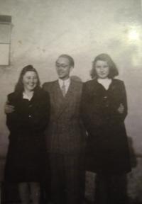 Zleva: Jiřina novotná, Mykola Baranovskij