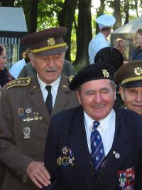 Plukovníci Mikuláš Končický a Jiří Porazík