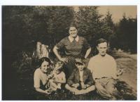 Rodina Tejčkova před válkou