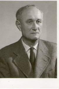 František Tejček v pozdějším věku, otec pamětnice