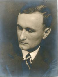 Ing. František Tejček, otec pamětnice
