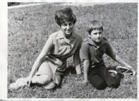 Pamětnice se synem Vladimírem