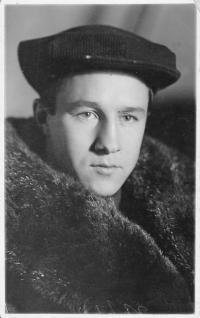 Strýc Vladimír Filipovič, 1938
