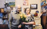 S manželem na Ukrajině