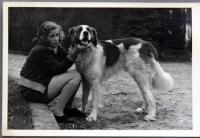 Karla Loevensteinová ve třicátých letech