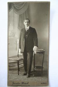 Vladimír's father Antonín