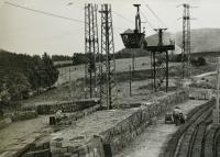 Construction work in Poříčí (1953)