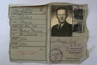 Kennkarte - personal identity card from World War II