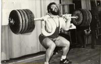 Jan Nagy, 245 kg v roce 1976