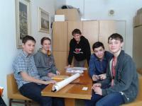 Setkání se studenty při projektu Příběhy našich sousedů