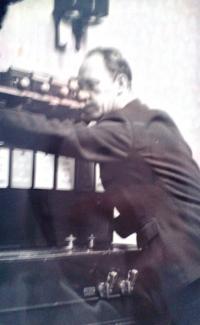 Stanislav Chromčák v zaměstnání