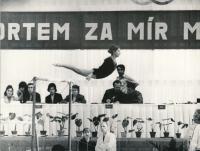 Komrsková MČR Martin, 70. L0ta, sportem za mír
