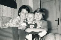 Komrsková - narození nejstarší dcery Lucie