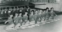 Komrsková širší výběr na OH 1972 Mnichov