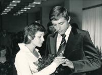 Komrsková Zdena svatba s Janem