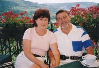 Černý Albert Antonín s manželkou Evou