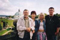 Černý Albert Antonín s rodinou