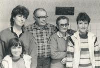 Černý Albert Antonín, rodiče uprostřed