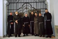 with other Franciscan brothers in Uherske Hradiste in 2003