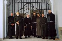 se spolubratry františkány v Uherském Hradišti r. 2003