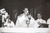 1974 primiční mše u Panny Marie Sněžné v Praze
