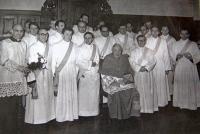 jáhenské svěcení s kardinálem Štěpánem Trochtou