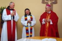 2009 - P.Pometlo, bratr Didak a Mons. František Radkovský, plzeňská misie