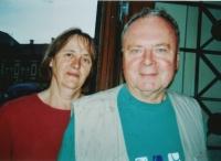 Jan Litomiský se svou ženou