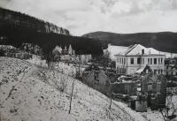 Javoricko after firing high-school building