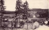 Javoricko ago for myslivnou toward Březině on Veselíčko before burning
