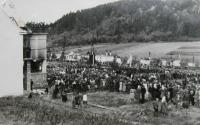 National Pilgrimage in Javoříčko September 23, 1945 which was attended by some 25,000 visitors