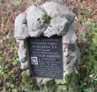 Rostislav Final memorial murdered in a forest near Javoříčko