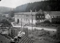 Farmhouse in Javoříčko after firing