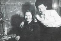 Mother Emilie Marie Vlčková Orálková Milan Vlcek with whom he lived during his imprisonment after the war moms