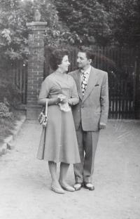 Milan Vlcek with his wife Květoslava