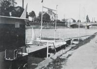 Boat rental in Prerov, owned by father
