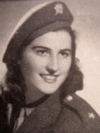 Jarmila Foralová (Kišová) jako spojka partyzánské skupiny Jiskra