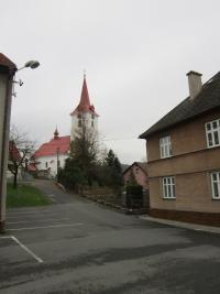 Kostel svatého Jana Křtitele v Palkovicích