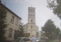 Kostel v Horních Heřmanicích (německy Ober Hermsdorf)