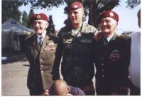 R.Krzák (vlevo) a J.Klemeš, Chrudim 14.9.2002