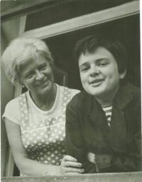 Eva Bošková s dcerou Olgou